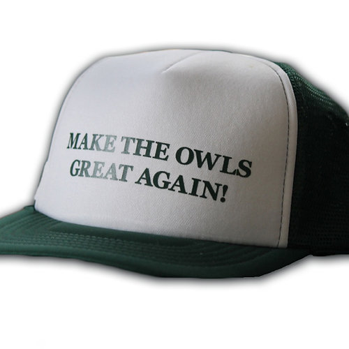 Make the Owls Great Again Hat