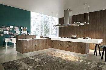 sleek brown & green kitchen.jpg