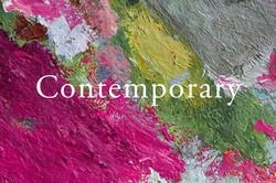 Contemporary brush-strokes