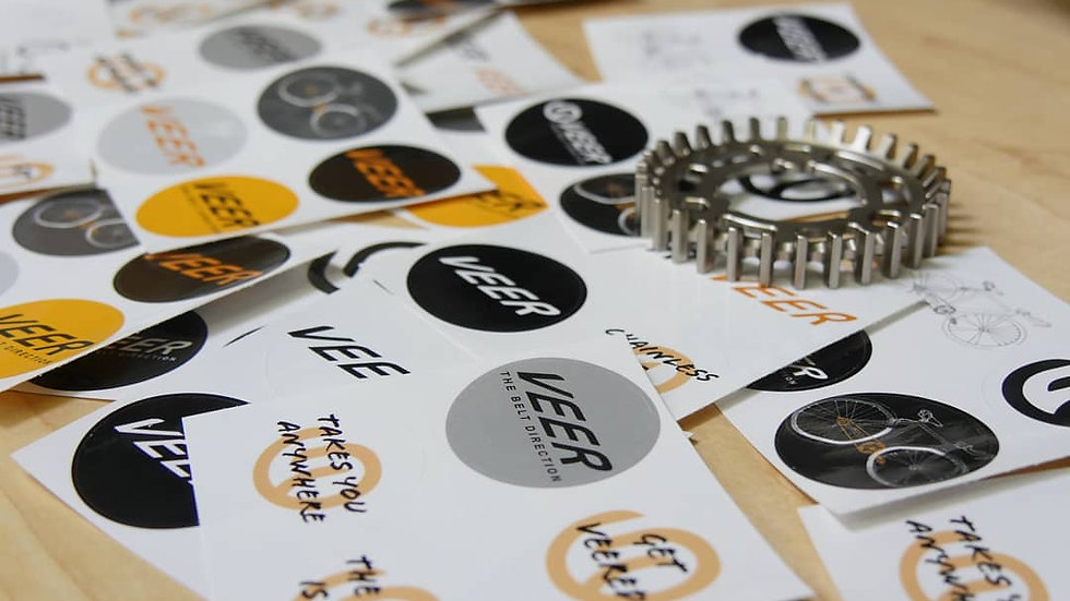 Graphic Design Elements (ie. Logos, stickers, t-shirts)
