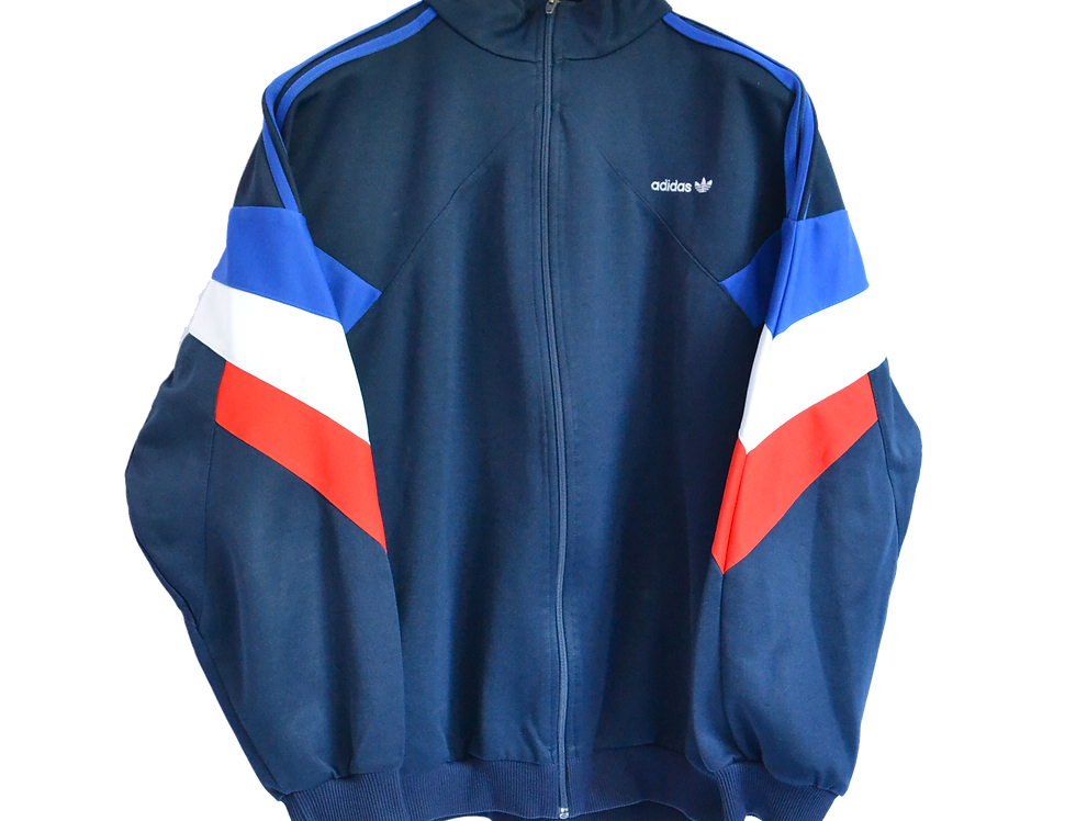Adidas 90s Track Jacket Red/White/Blue L