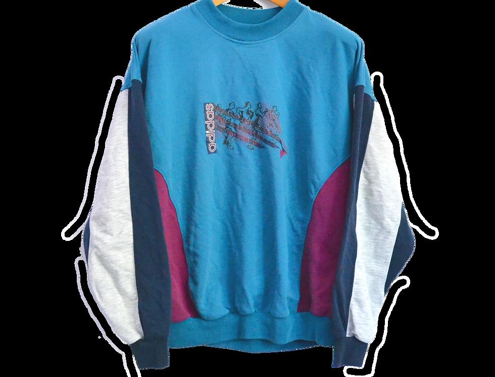 Adidas 80's Athletic Sweatshirt L