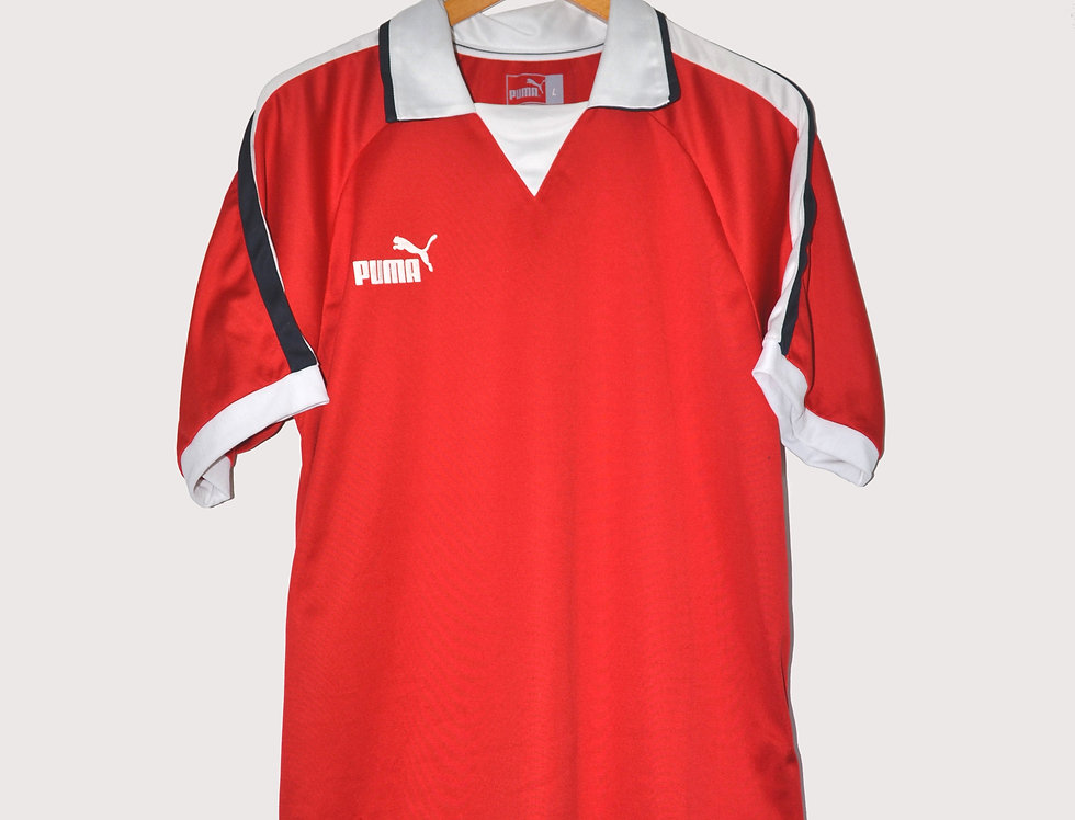 Puma Logo Sport Polo Red L