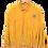 Thumbnail: Vittorio Forti Yellow Suede Jacket M