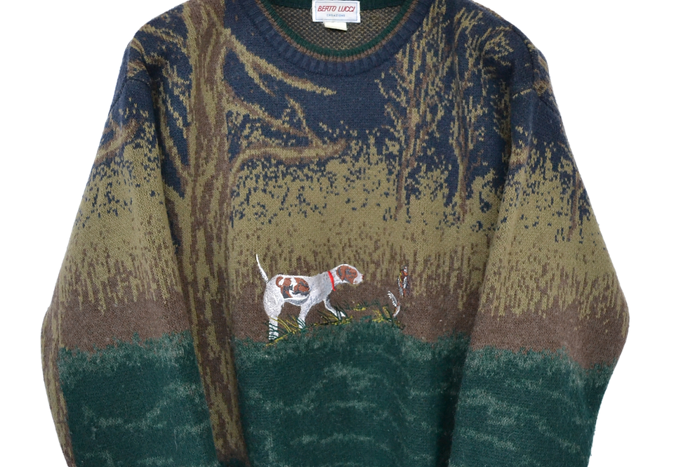Berto Lucci Duckhunter Knitted Jumper