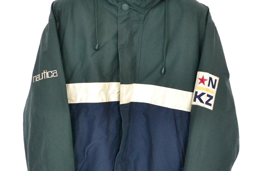 Nautica Sailing Reversible Fleeced Coat M