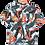 Thumbnail: Chinese Style Dragon Graphic Shirt S