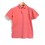 Thumbnail: Lacoste Polo Pink Striped Collar M
