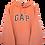Thumbnail: GAP Spellout Carrot Hoodie XL