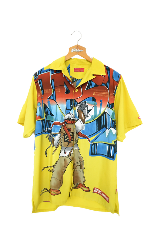 00's Rp44.ins Co Graphic Shirt S