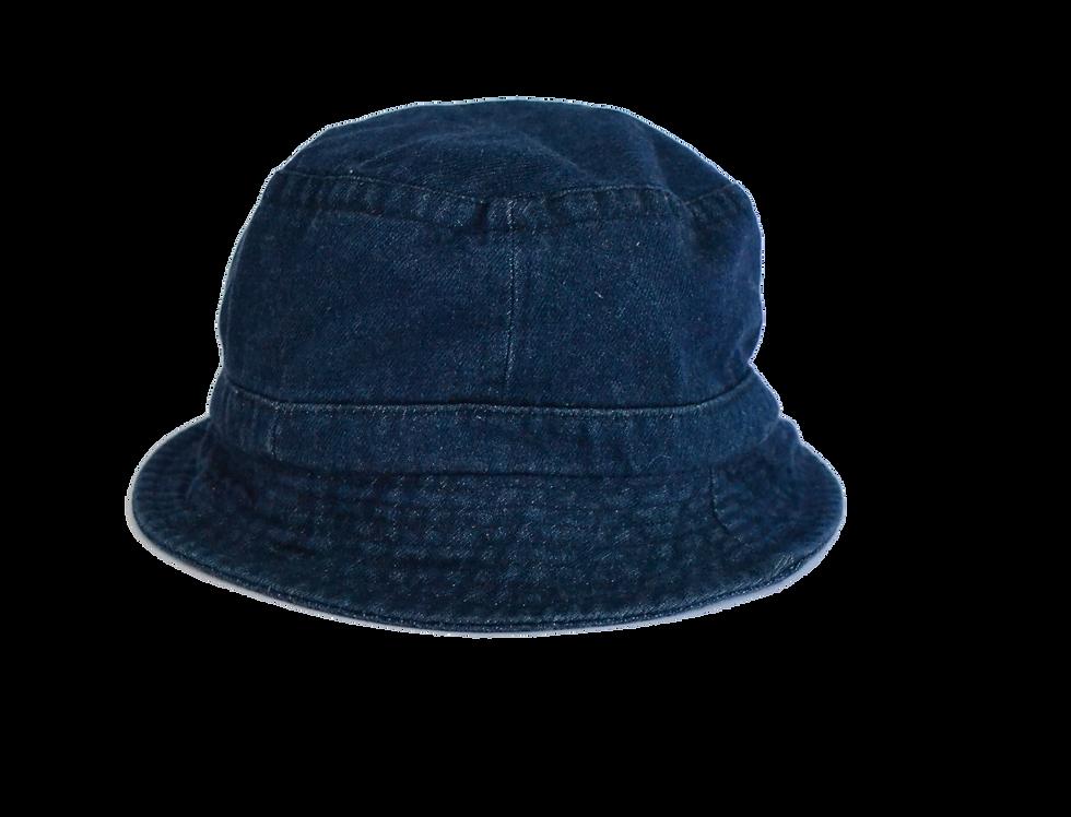 Bucket Hat Indigo Blue