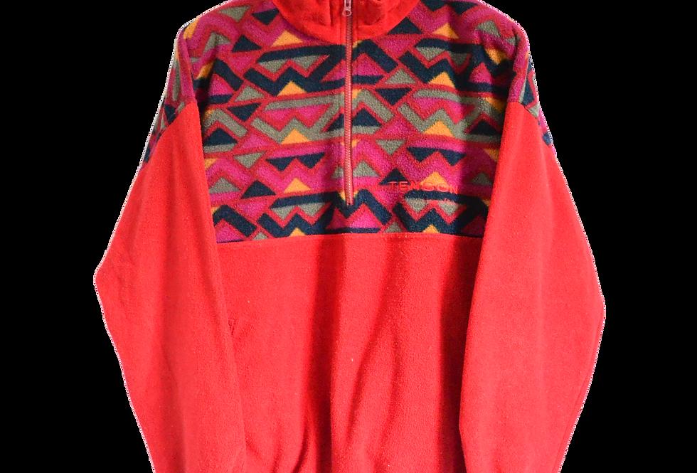 Tenson Patterned Fleece 1/4 Jacket XXL