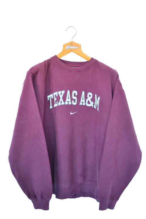 Nike Texas A&M University Football Sweatshirt L
