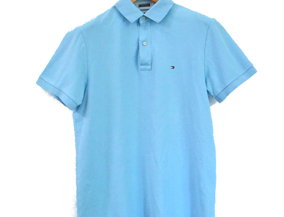 Tommy Hilfiger Baby Blue Polo M