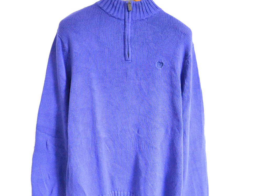 Ralph Lauren Chaps Knitted Sweatshirt Purple L