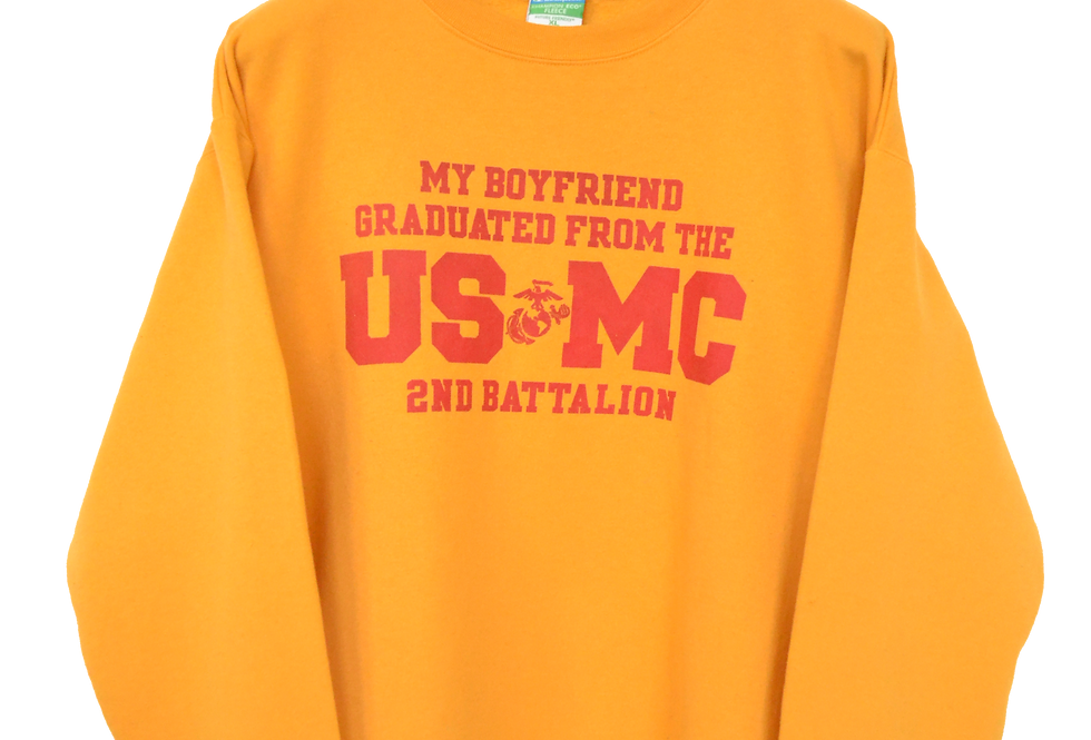 Champion United States Marine Corps Graduation Sweatshirt XXL