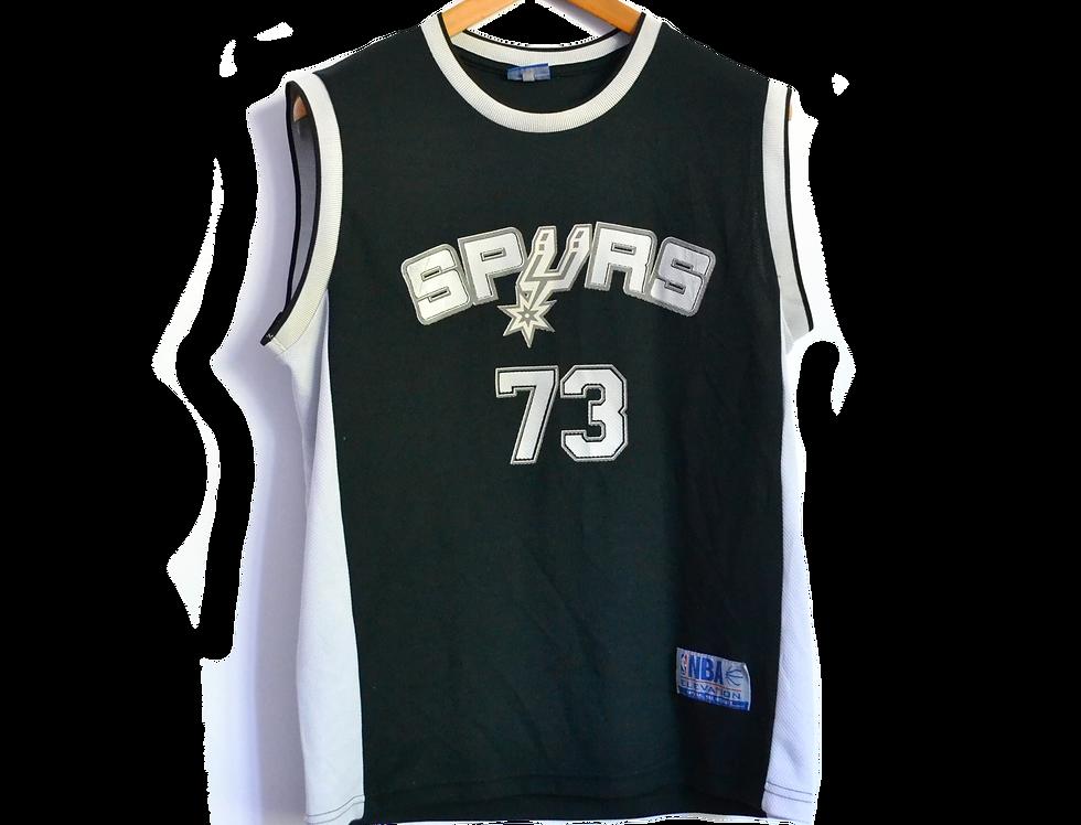 NBA Spurs San Antonio Basketball Jersey L