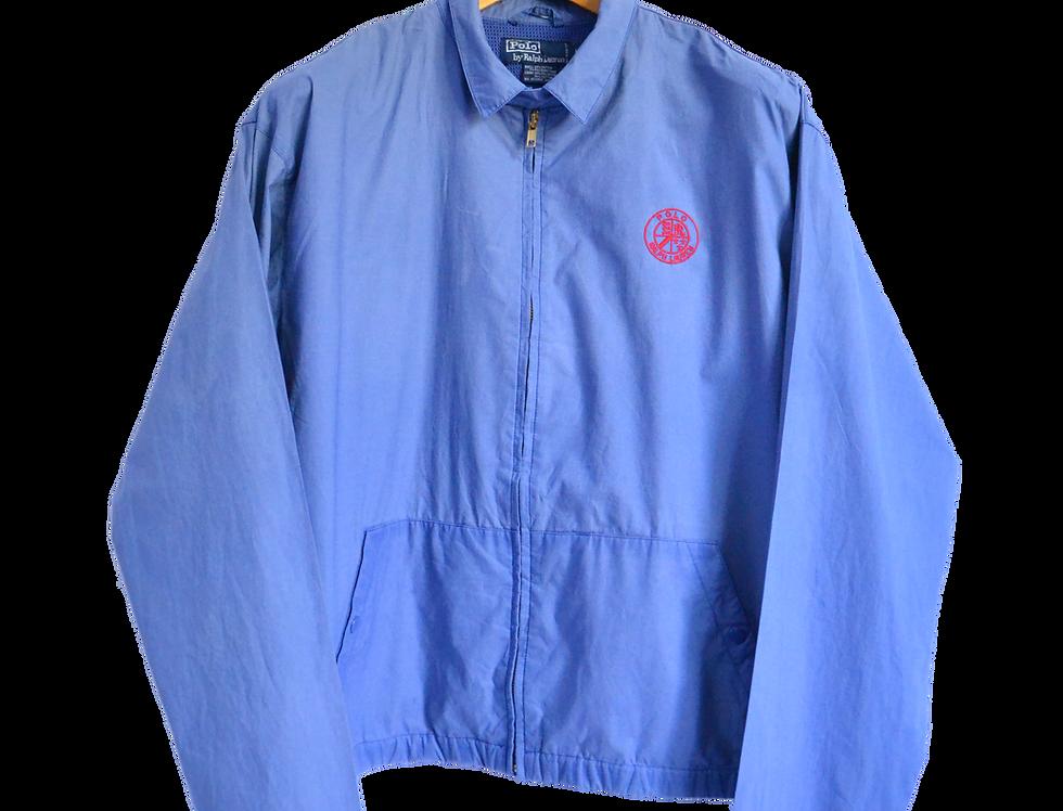 90s ralph lauren jas blauw