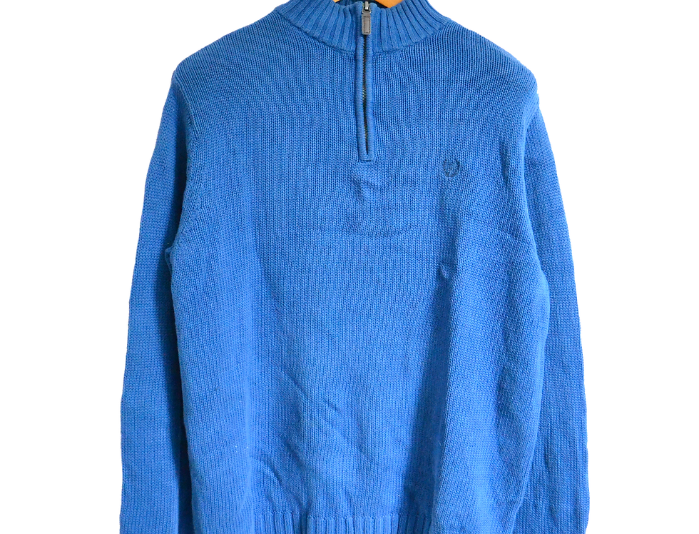 Ralph Lauren Chaps Knitted Sweatshirt Blue M