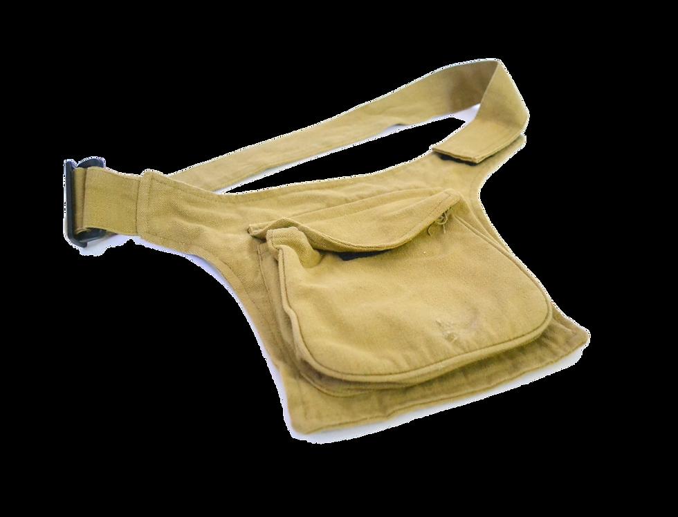 Beige Millitary Waistbag/Sack
