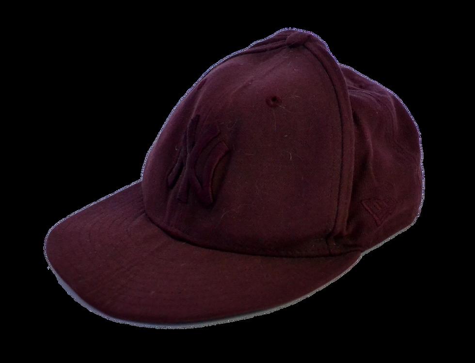 NFL NY Yankees Bordeaux Flatcap