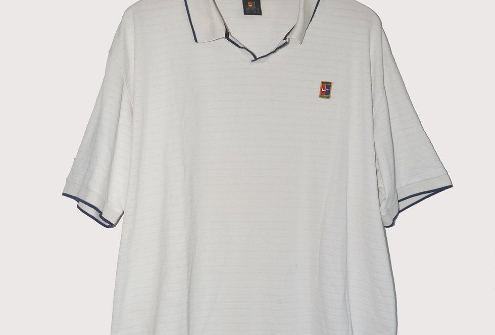 Nike White Golf Polo XXL