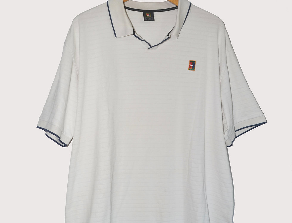Nike White Golf Polo XXL
