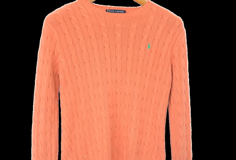Ralph Lauren Knitted Sweatshirt Coral S