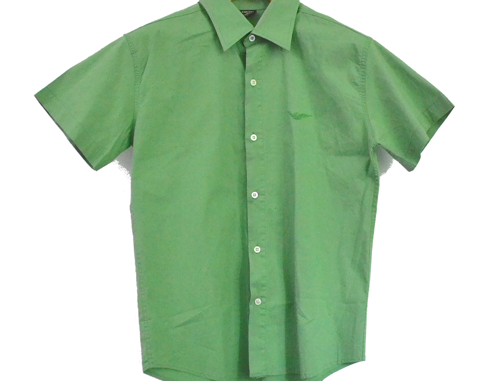 Emporio Armani Apple Green Shirt L