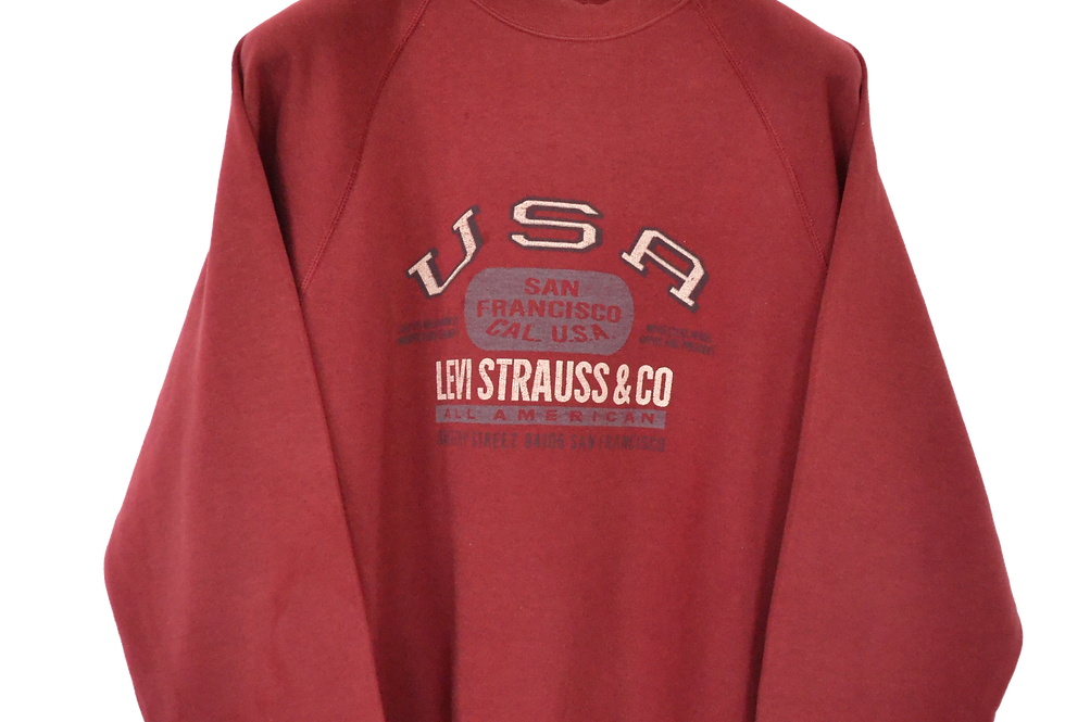 Levi Strauss & Co USA 90s Crewneck L