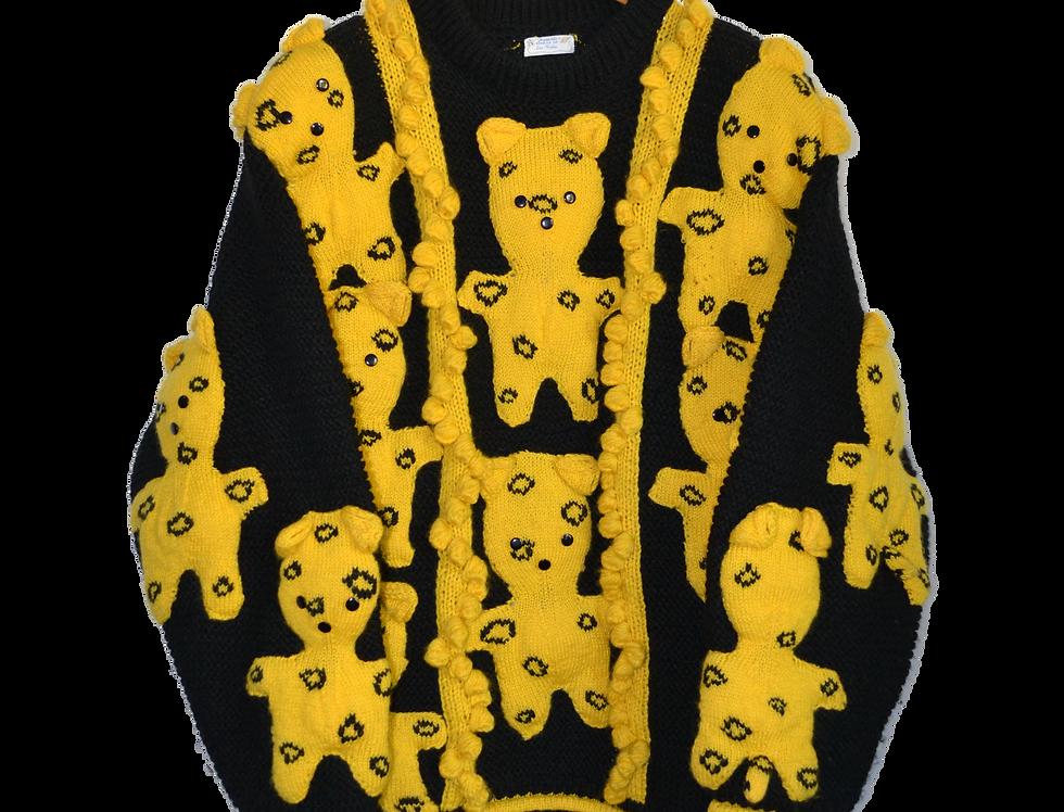 Hand Knitted Teddy Bear Jumper XXL