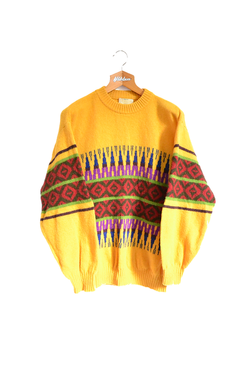 Canary Knitted Jumper XL