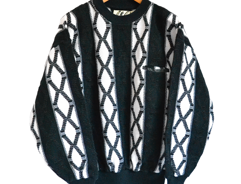 Korean made Knitted Sweater L