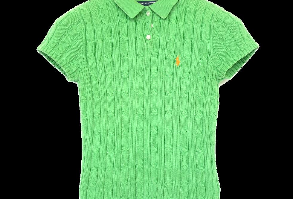 Ralph Lauren Knitted Polo Grass S