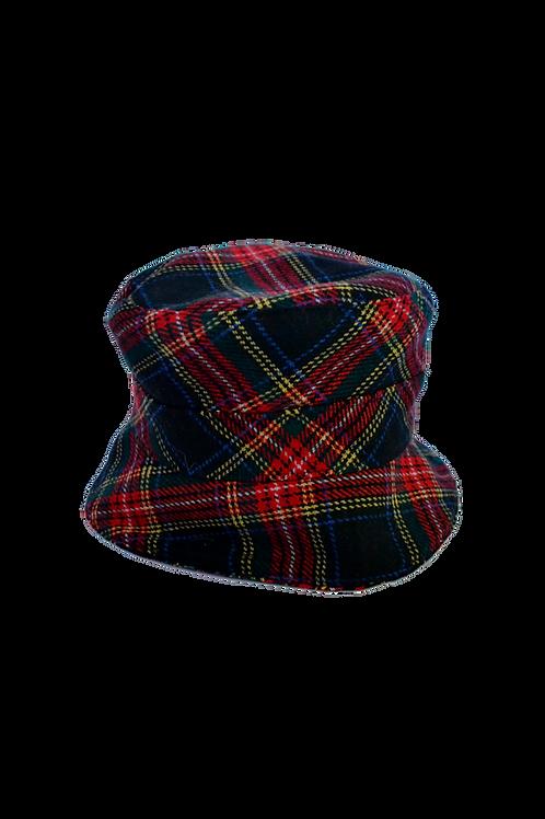 Crazy Scottish Print Bucket Hat