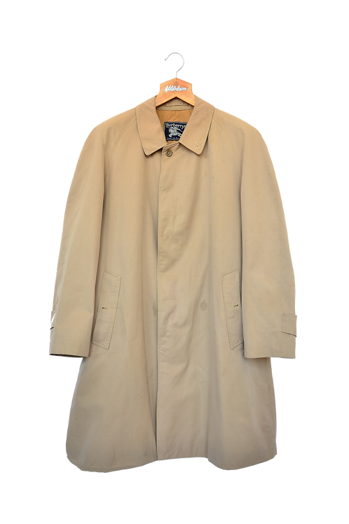 Burberrys of London Single Breasted Trench Coat beige M