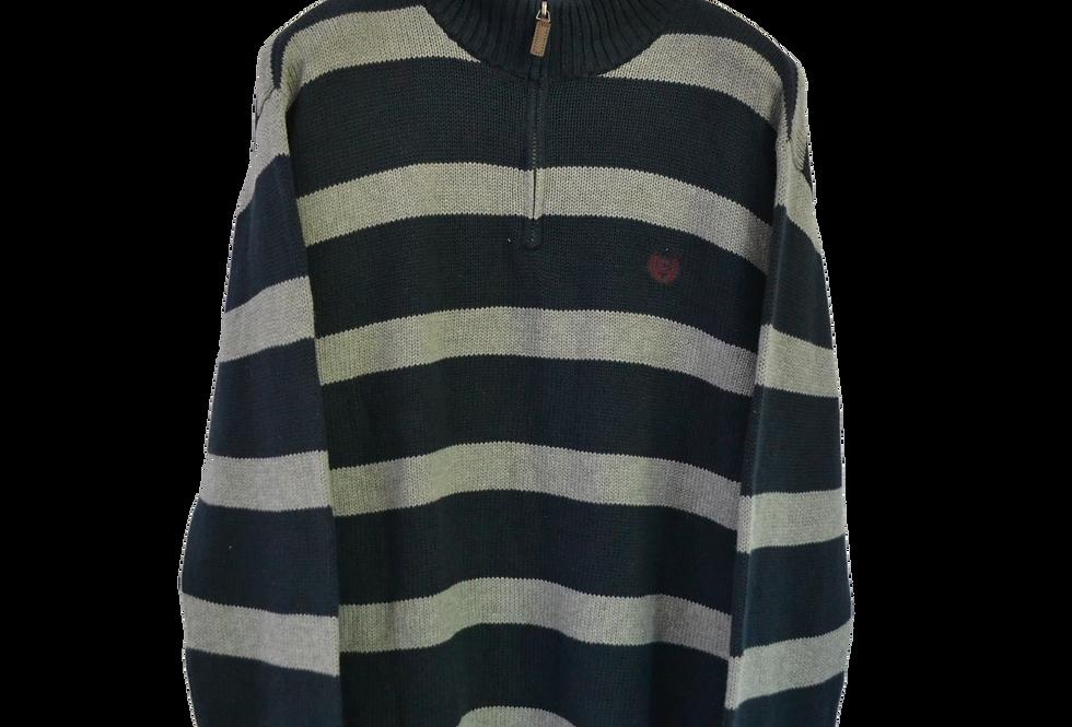 Vintage Chaps Sweatshirt Striped