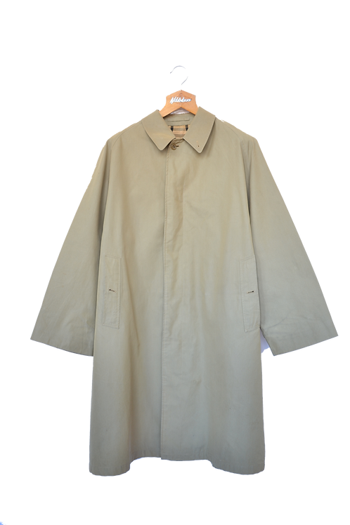 Burberrys of London Fumagalli Single Breasted Trench Coat beige L
