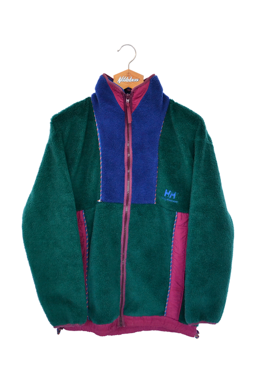 Helly Hansen 90s Full Zip Colourblock Fleece S