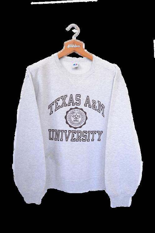 Texas A&M University Sweatshirt L
