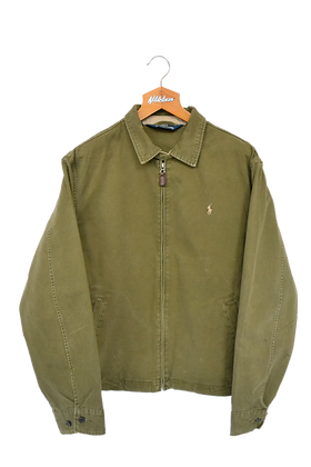 Ralph Lauren Harrington Jacket Olive XL