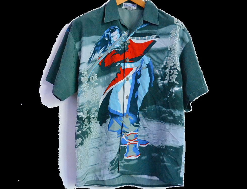 Samurai Asassin Graphic Shirt M