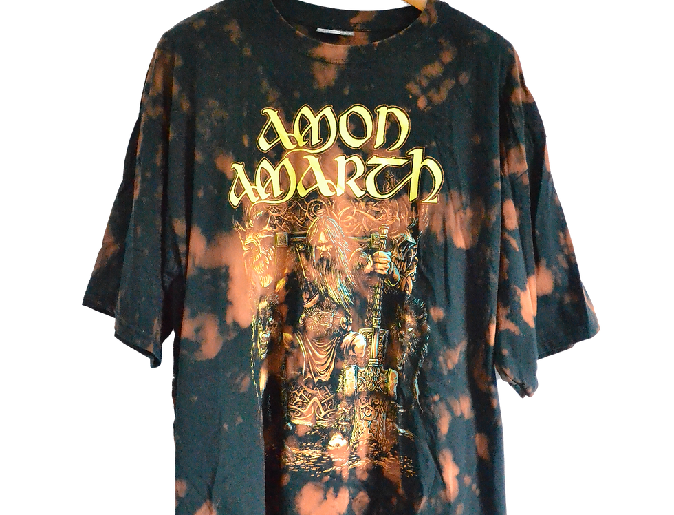 Amon Amarth Thor! Oden's Son Copper-bleached Tee XXXXL