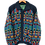 Thumbnail: Multicoloured Wool Knitted Jacket XL