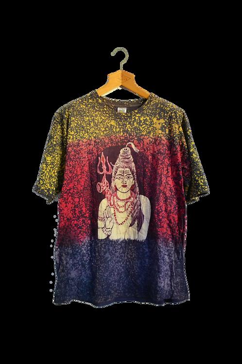Shanggri-la Drip Dye Nepal Tee L