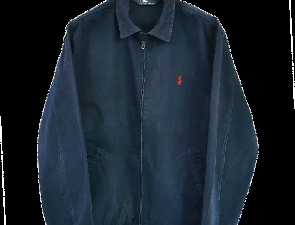 Vintage Ralph Lauren Jas blauw