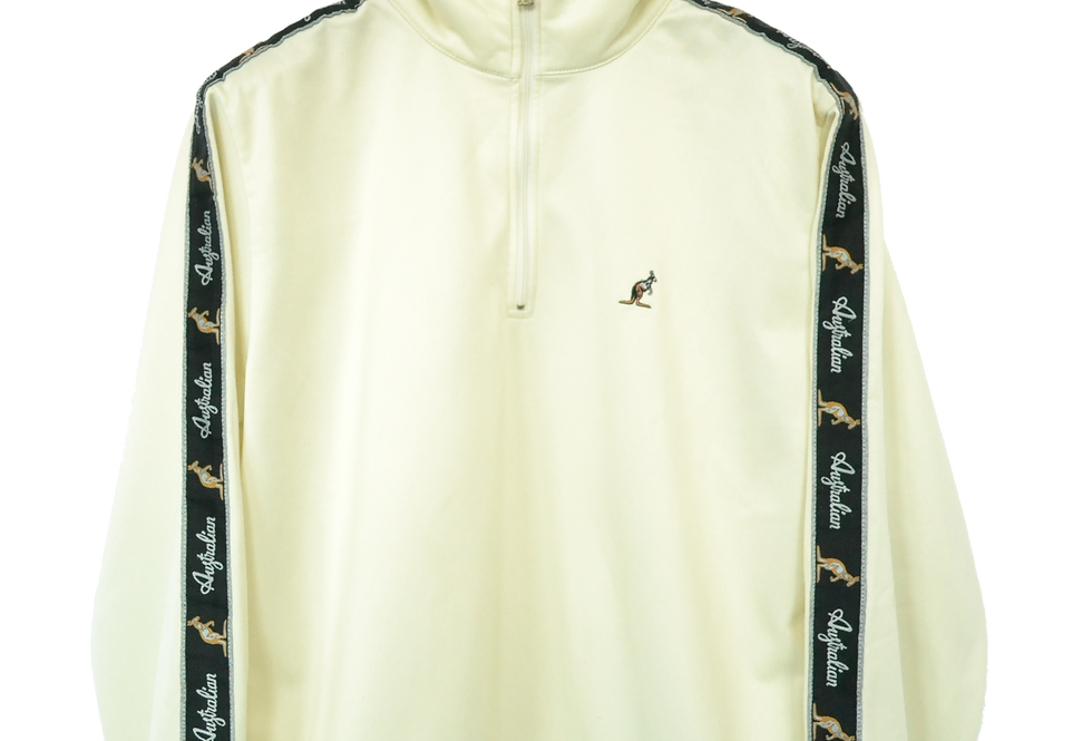 Australian L'Alpina 3/4 Track Jacket Cream M