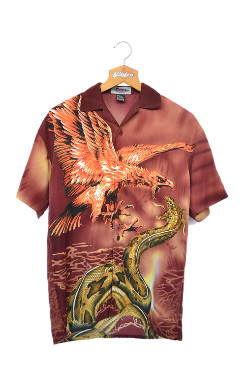 00's Phoenix fighting Anaconda Shirt S