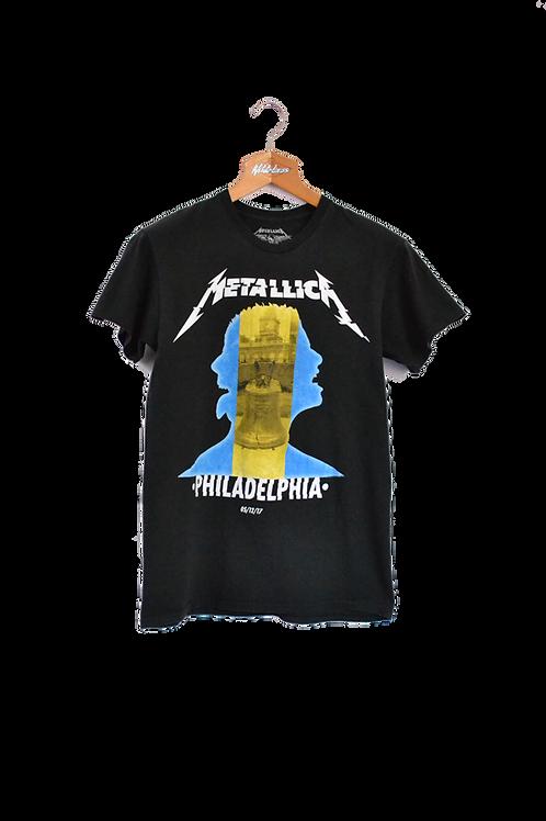 Metallica Official Philadelphia Bandtee M