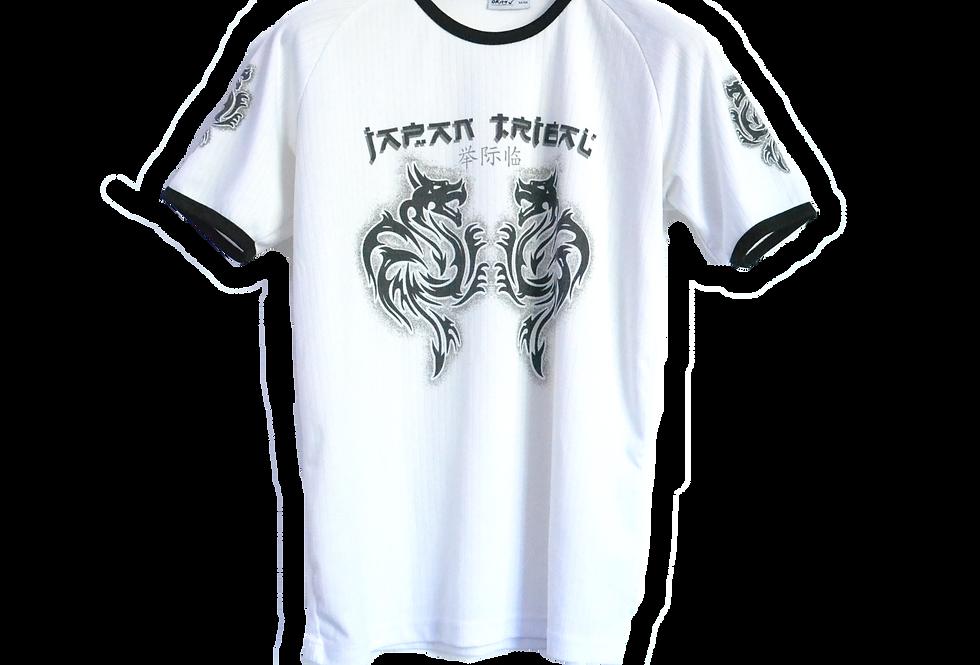 Y2K ドラゴンシャツ L